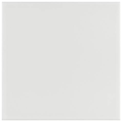 "Picture of Revival White 7-3/4""x7-3/4"" Ceramic F/W Tile"
