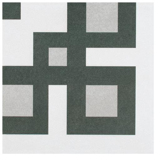 "Picture of Twenties Corner 7-3/4""x7-3/4"" Ceramic F/W Tile"