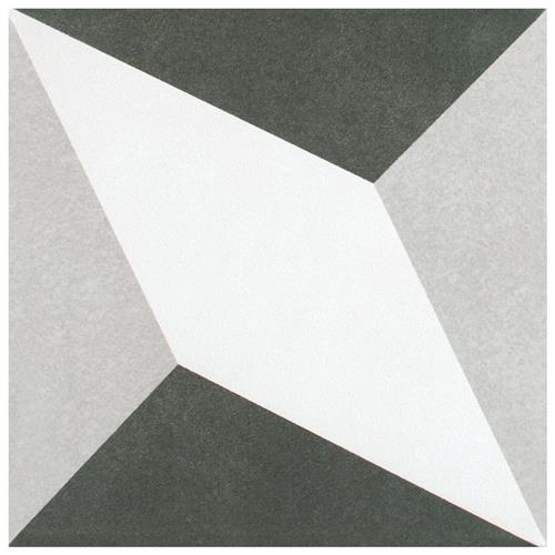 "Picture of Twenties Diamond 7-3/4""x7-3/4"" Ceramic F/W Tile"