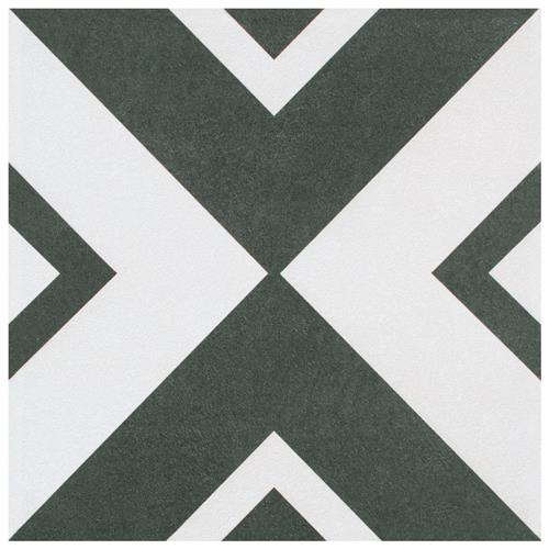 "Picture of Twenties Vertex 7-3/4""x7-3/4"" Ceramic F/W Tile"