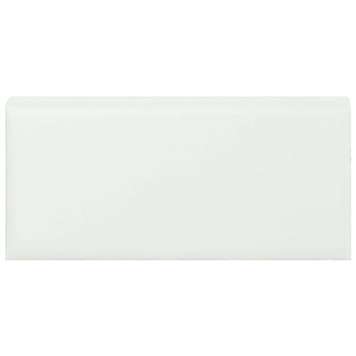 Picture of Metro Matte White 1-3/4 in. x 3-3/4 in. Porcelain Bullnose