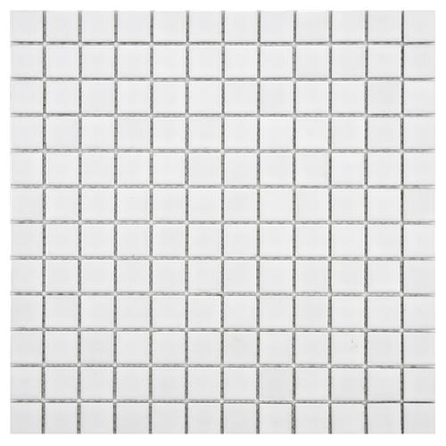 "Picture of Boreal Square White 11-3/4""x11-3/4"" Porcelain Mos"