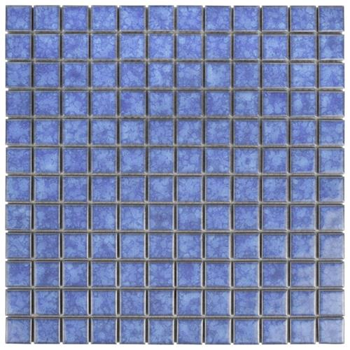 "Picture of Lagoon Square Aral 11-3/4""x11-3/4"" Porcelain Mos"