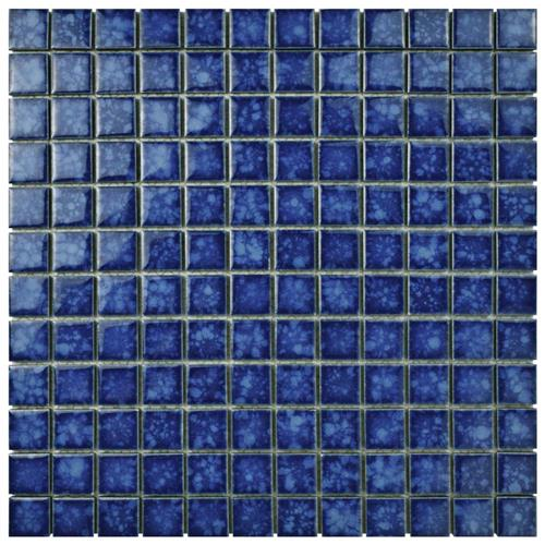 "Picture of Lagoon Square Pacific 11-3/4""x11-3/4"" Porcelain Mos"
