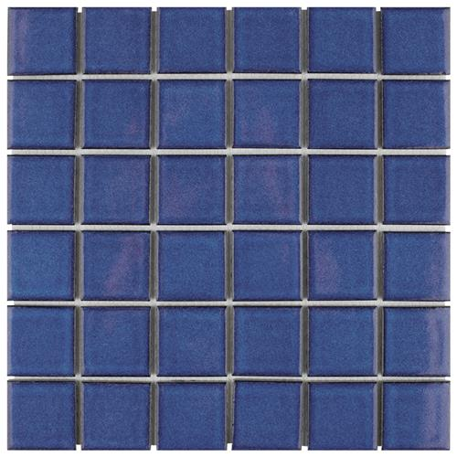 "Picture of Oceania Quad Cerulean 11-7/8""x11-7/8"" Porcelain Mos"