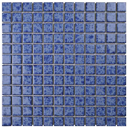 "Picture of Watersplash Square Catalan 11-3/4""x11-3/4"" Porcelain Mos"