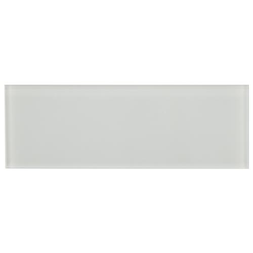 "Picture of Tessera Grand Subway Ice White 4""x12"" Glass W Tile"
