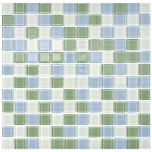 "Picture of Spectrum Square Fresh 11-3/4""x11-3/4"" Glass Mos"