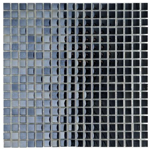 "Picture of 11-3/4""x11-3/4"" Claude Mini Mirror Glass Mosaic"