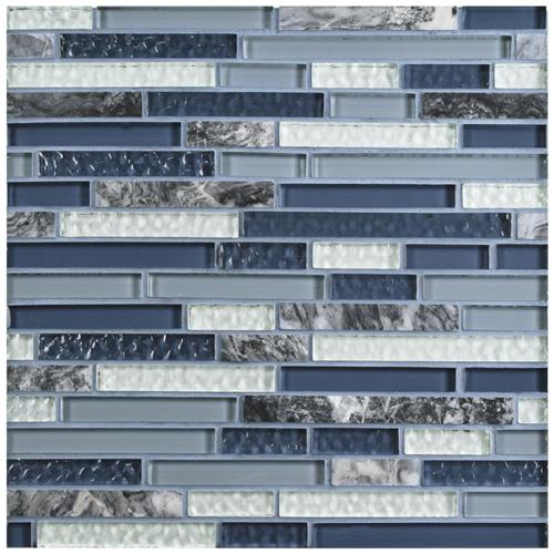 Tessera Piano Gulf 11 3 4 X11 7 8 Gl Stone Mos The Somertile In X Mm And Mosaic Tile Is A Cool