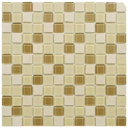 "Picture of Spectrum Sq Olea 11-3/4""x11-3/4"" Gl/Stone Mos"