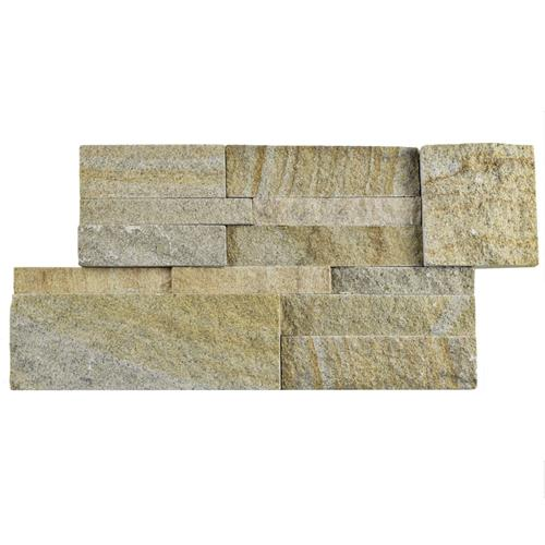 "Picture of Ledger Panel Sandstone 7 ""x13-1/2"" Nat Stone W Tile"