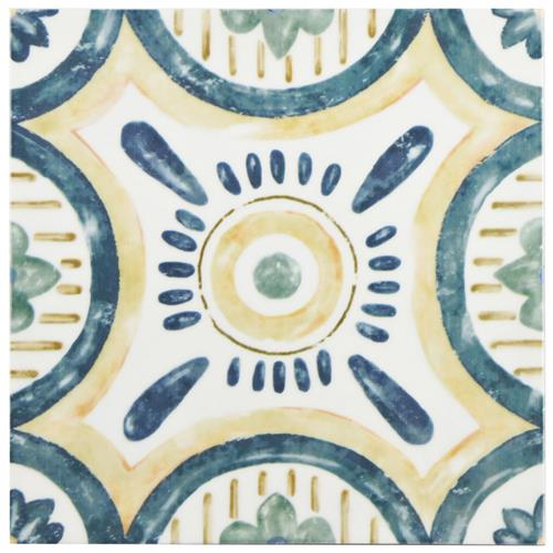 "Picture of Bourges Isola 7-7/8""x7-7/8"" Ceramic W Tile"