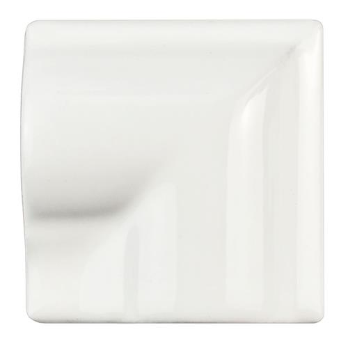 "Picture of Antigua Blanco 2""x2"" Ceramic Moldura Incorner W Trim"