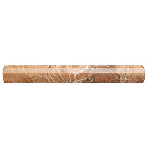 "Picture of Aroas Cigarro Arena 1""x8"" Ceramic W Trim"