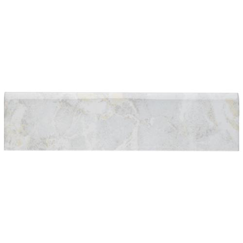 "Picture of Aroas Bullnose Gris 2""x8"" Ceramic W Trim"