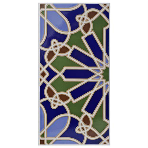 "Picture of Artesanal Alhambra 5-1/2""x11"" Ceramic W Tile"