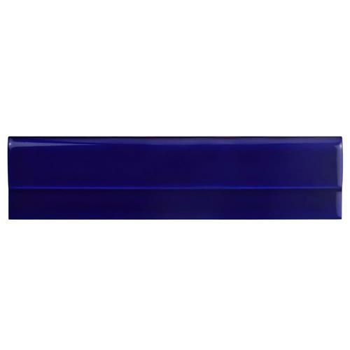 "Picture of Artesanal Azul Moldura Plana 2-3/4""x11"" Ceramic W Trim"