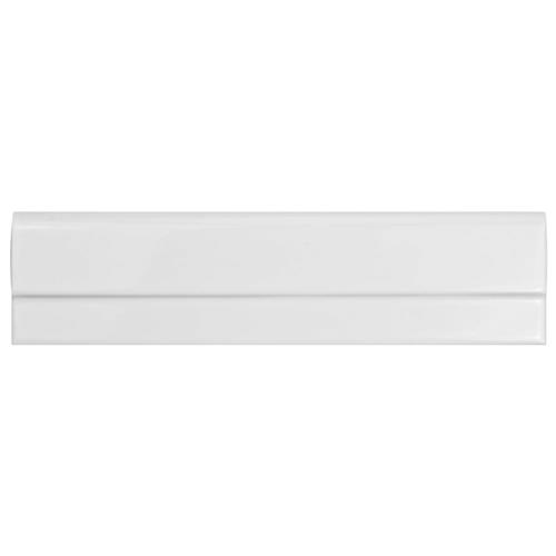 "Picture of Artesanal Blanco Moldura Plana 2-3/4""x11"" Ceramic W Trim"