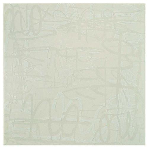 "Picture of Relax Blanco 7-7/8""x7-7/8"" Ceramic W Tile"
