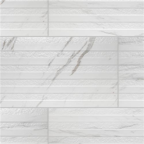 "Picture of Eterno Carrara Line 12-7/8""x25-5/8"" Porcelain W Tile"