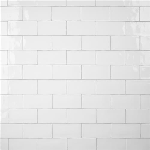 "Picture of Castillo White 2-7/8""x5-7/8"" Ceramic Wall Tile"
