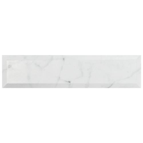 "Picture of Classico Carrara Matte Metro 3""x12"" Ceramic W Tile"