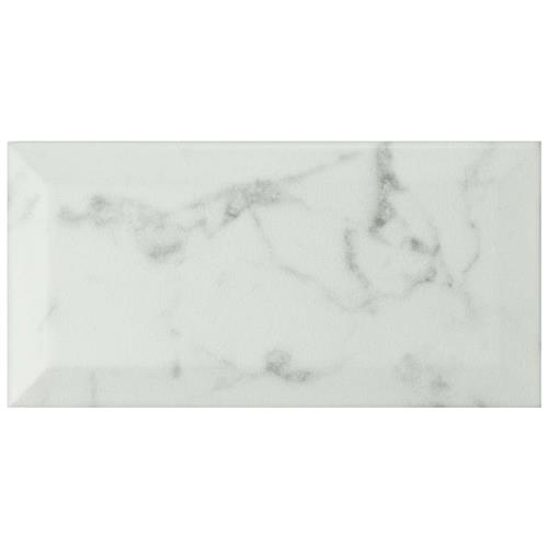 "Picture of Classico Carrara Matte Metro 3""x6"" Ceramic W Tile"