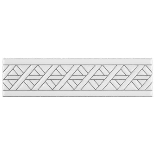 "Picture of Sevillano Listello Camino White 2""x7-7/8"" Cer Wall Trim"