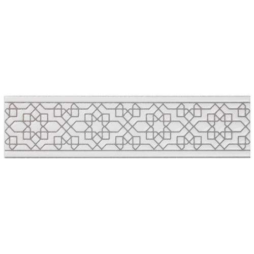"Picture of Sevillano Listello Estrella White 2""x7-7/8"" Cer Wall Trim"