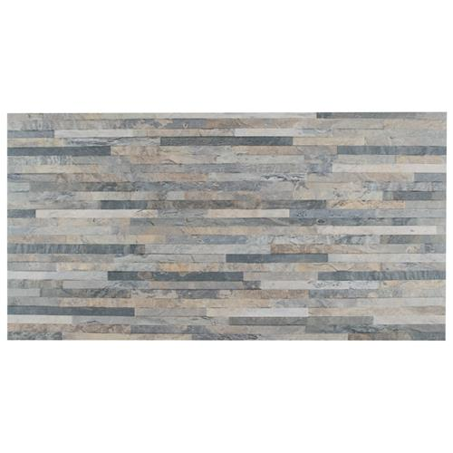 "Picture of Muro Ardesia Gris 12-1/2""x24-1/2"" Porcelain W Tile"