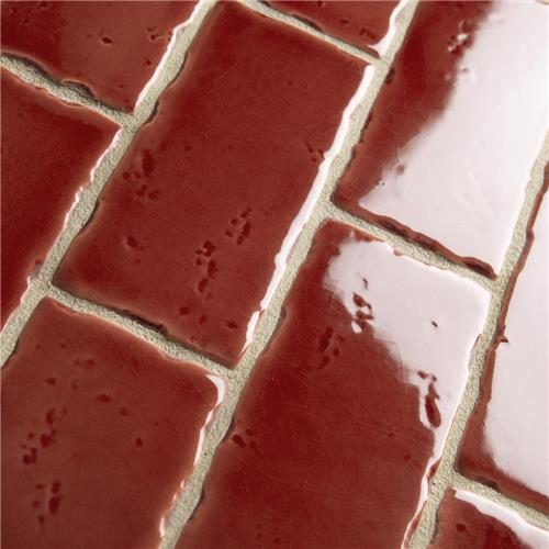 "Picture of Novecento Subway Burdeos 2-1/2""x5-1/8"" Ceramic W Tile"