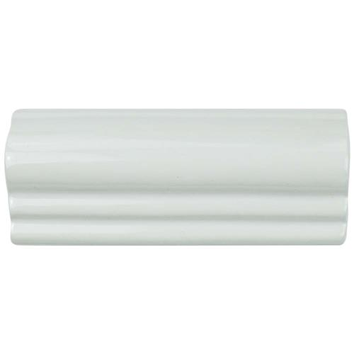 "Picture of Novecento Moldura Blanco Viejo 2-1/8""x5-1/8"" Ceramic W Trim"