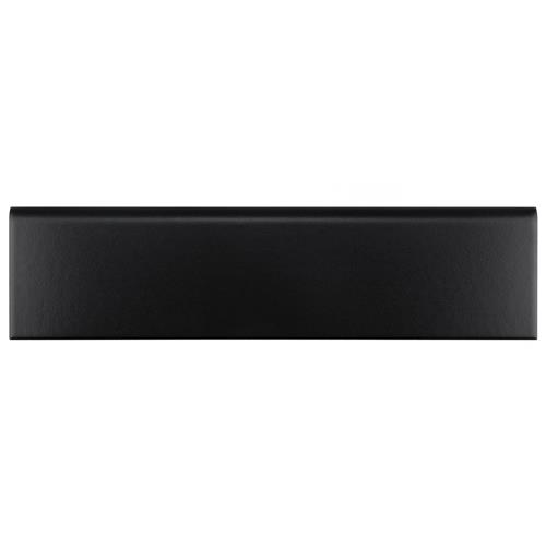 "Picture of Battiscopa Matte Black 3-1/4""x12-3/8"" Ceramic W Trim"