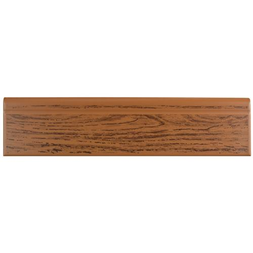 "Picture of Battiscopa Satin Oak Wood R-139 3-1/4""x13-1/8"" Cer W Trim"