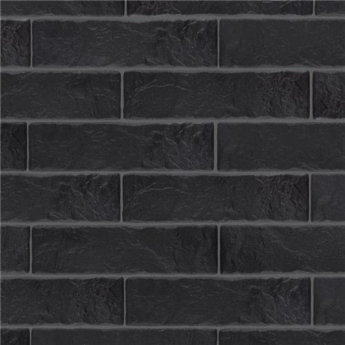 "Picture of Opera Black 3-1/8""x11-3/8"" Porcelain F/W Tile"