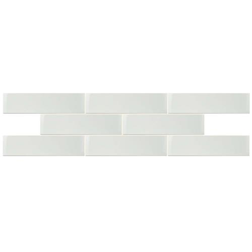 "Picture of Park Slope Glossy White 4""x15-3/4"" Ceramic W Tile"
