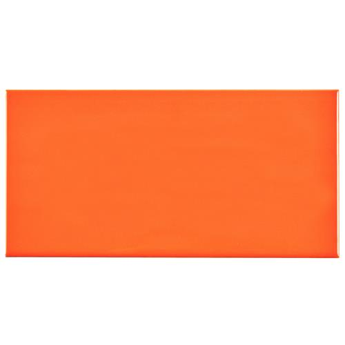 "Picture of Park Slope Subway Glossy Tangerine Orange 3""x6"" Cer W Tile"